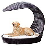Refined Canine Outdoor Dog Chaise lounger