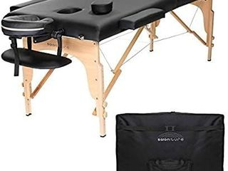 Saloniture Portable Folding Massage Table