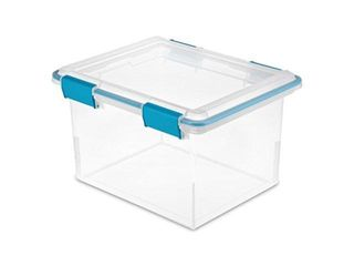 Sterilite 32qt Clear Gasket Box 19334304 32qt Clear Gasket Box