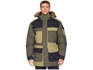 The North Face McMurdo Parka III  New Taupe Green Combo  Men s Coat