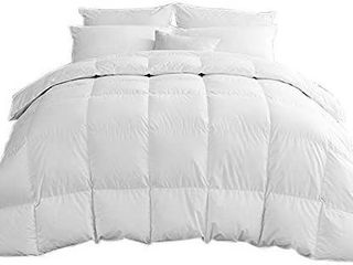 Rose Cose White Goose Down Comforter  Grey