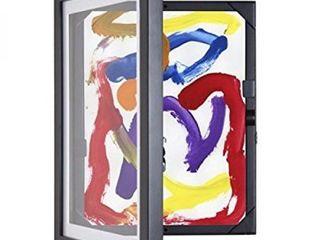 Li'l Davinci 9x12 inch Art Frame, Black