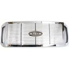 05 06 Ford Super Duty Chrome Grille