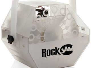 Rockjam lightshow Machine With Built in leds  1 liter Of Bubble liquid