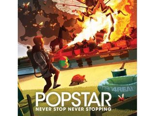 Popstar  Never Stop Never Stopping  Blu ray 2019  WITH POSTER