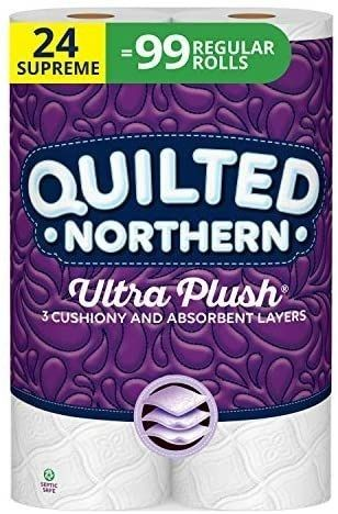 Quilted Northern Ultra Plush Supreme Toilet Paper  24 Count
