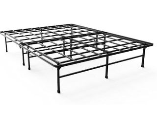 Zinus 14 Inch Elite SmartBase Mattress Foundation for Big   Tall Extra Strong Support Platform Bed Frame Box Spring Replacement Sturdy Quiet Noise Free Non Slip  Twin Xl Retail   99 99