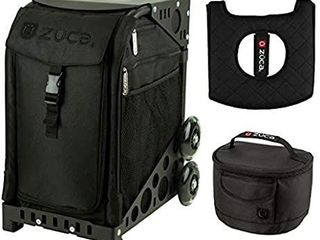 Zuca Sport Bag   Stealth with Gift lunchbox and Seat Cover Retail   171 00