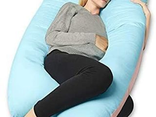 JoyBest Full Body Pregnancy Pillow  Maternity Pillow Support for Back  Hips  legs  Belly