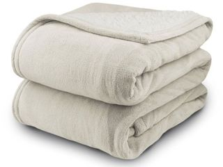 Biddeford MicroPlush Sherpa Analog Electric Blanket Queen Size Retail   79 96