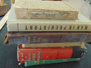 old books   Man in prehistory   more