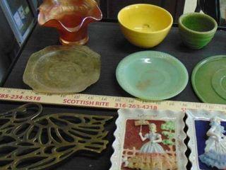trivets   vintage bowls   Victorian decor