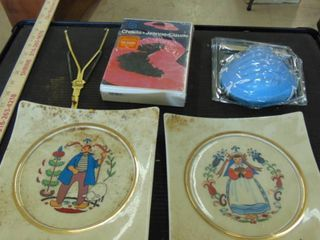 wedding plates   old movie