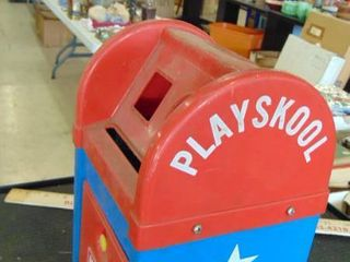Kids Playskool shapes mailbox
