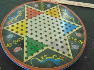 metal Chinese checkers and normal checker board