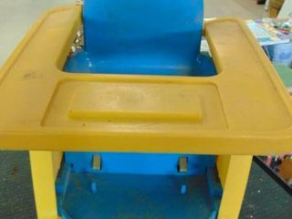 plastic kids chair w tray
