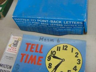 Tell time flash cards