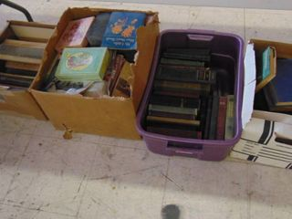 lot   books   cards   magazines