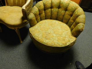 half round chair in nice shape