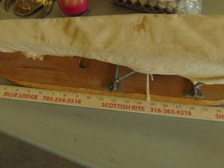 old table top folding ironing board