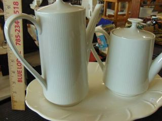 China coffee and tea pots   made in Germany