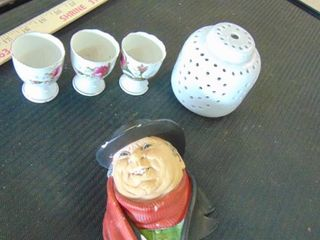 mini tea cups   old dude face