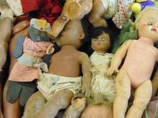 Vintage baby doll lot