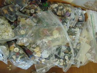 huge lot of buttons