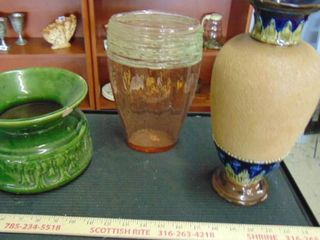 Vases   ceramic   glass   enamel