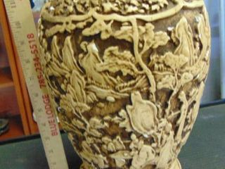 14  ornate ceramic vase