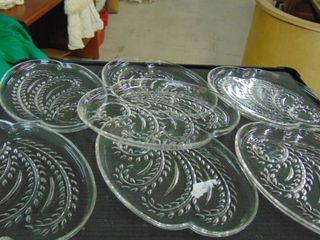 lot glass platters