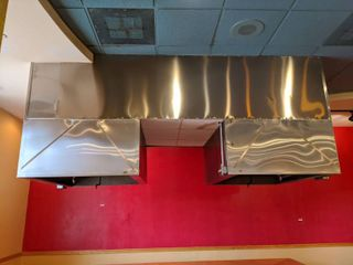 Exhaust Hood, Without Exhaust Damper. Buyer Responsible For Removal