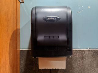 Paper Towel And Soap Dispensers  Buyer Responsible For Removal