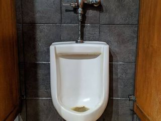Wall Hanging Urinal  Brand Unknown  Buyer Responsible For Removal