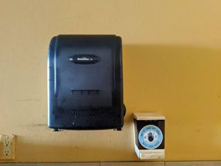 Sink  Soap And Paper Towel Dispensers  Buyer Responsible For Removal