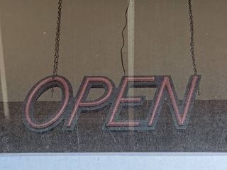 Optiva lED Open Sign  Buyer Responsible For Removal