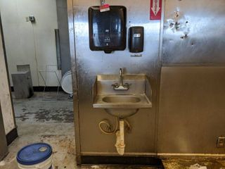 Hand Washing Station  Buyer Responsible For Removal