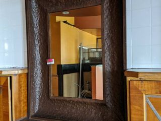 Metal Mirror  Buyer Responsible For Removal