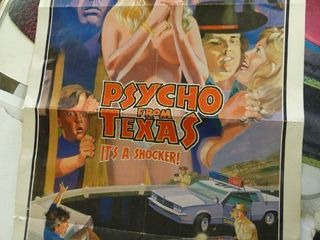 Psycho From Texas Movie Poster