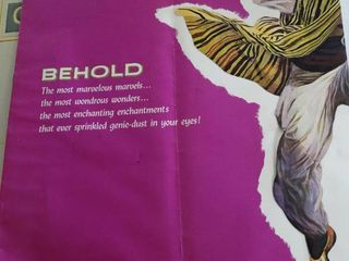Wonders of Aladdin Advertisement