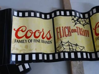 Corrugated Coors Halloween Wrap