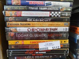 19 various DVD movies