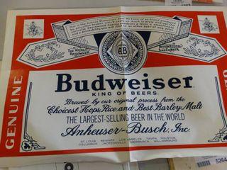 Budweiser Advertisement Poster