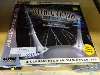 Science Fiction Classics  4 classic stories on 8 cassettes in box