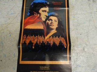 El Cid Charleston Heston movie poster