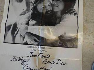 Vintage  Jane Fonda in Coming Home movie poster