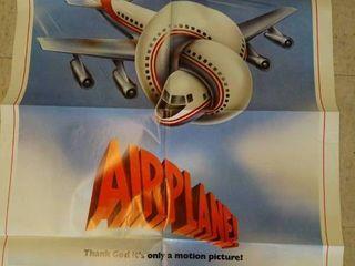 Vintage  Airplane Movie poster