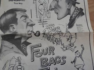 Four Bags Full vintage movie poster   info