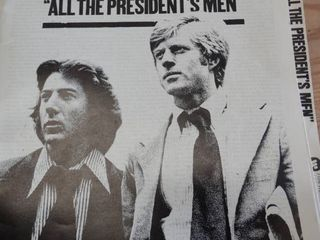 Pressbook   All the Presidents Men