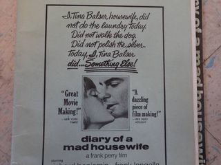 Advertising Publicity Promotion  Diary of a mad housewife